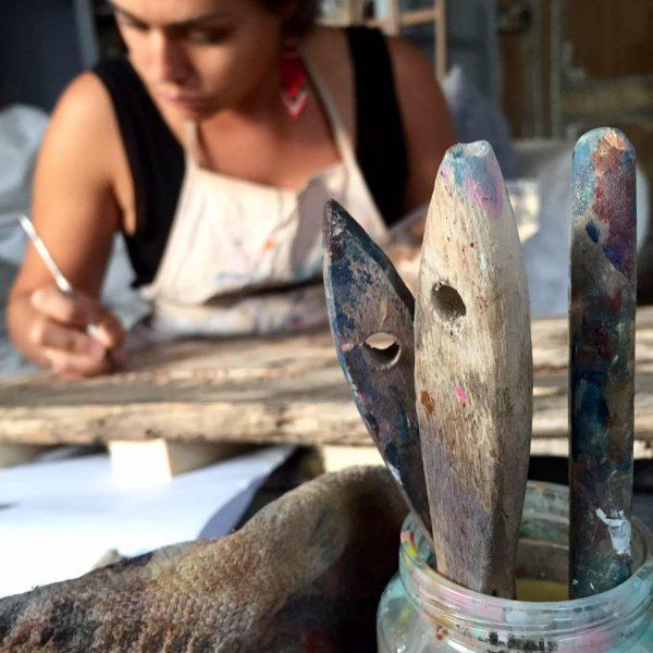 Coraline Van Butsele alias Coco artiste peintre