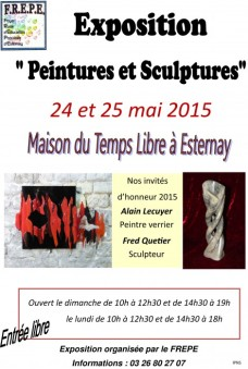 affiche exposition FREPE 2015