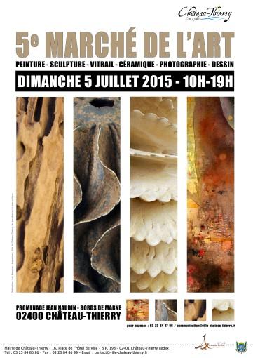 marché de l'art 2015 chateau-thierry