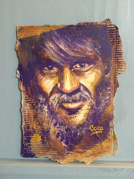 Eli Peinture Carton Les Ptits Dessins De Coco Les Ptits Dessins