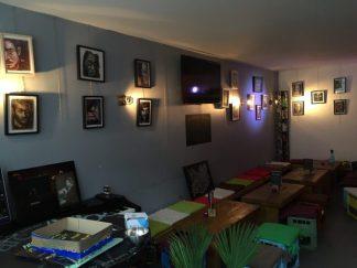 exposition-crouy-sur-ourcq-seine-et-marne-moz-café-artiste-coraline-vanbutsele-peinture-carton