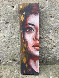 half-portrait-peinture-bois-losange