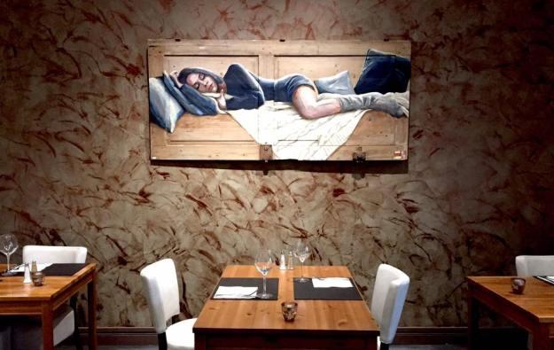 exposition de l'artiste Coraline Van Butsele au Restaurant la Grignotine à Pommiers près de Soissons (02)