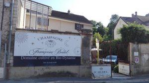 La maison de champagne Françoise Bedel, une famille de vignerons chaleureuse qui m'a fait l'honneur de m'accueillir en ses murs.