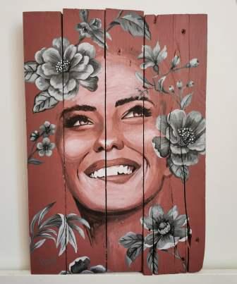 """""""Au bonheur des fleurs"""" - vendu-sold"""