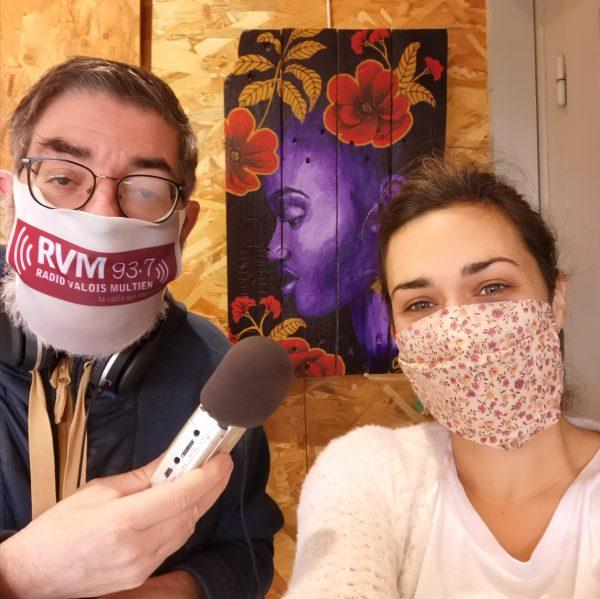 interview coraline van butsele pour la radio RVM 93.7