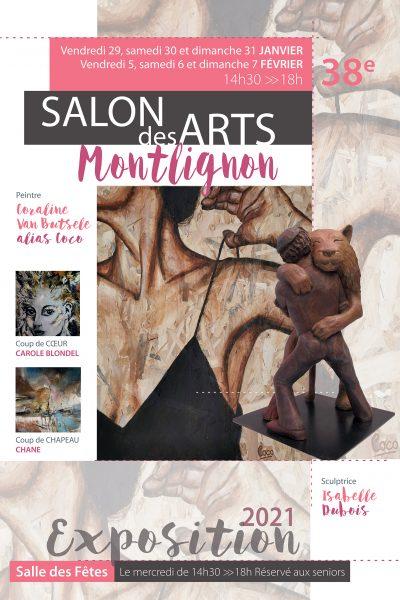 Coraline Van Butsele invitée d'honneur au 38ème salon des arts de Montlignon